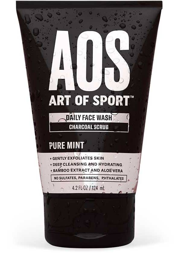 Art of Sport Men's Daily Face Wash Charcoal Scrub product image
