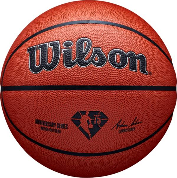 Wilson NBA 75th Anniversary Authentic Indoor Basketball 29.5'' product image