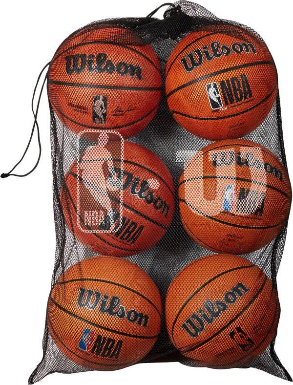 Wilson NBA 6-Ball Mesh Carrying Bag product image