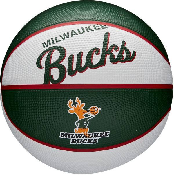 Wilson Milwaukee Bucks Retro Mini Basketball product image