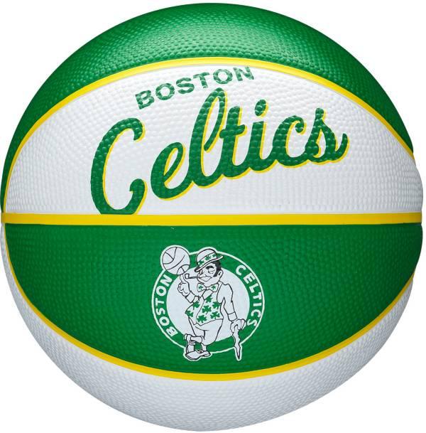 Wilson Boston Celtics Retro Mini Basketball product image