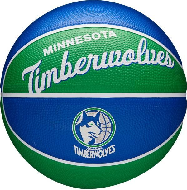Wilson Minnesota Timberwolves Retro Mini Basketball product image