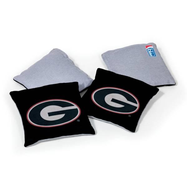 Wild Sports Georgia Bulldogs 4 pack Logo Bean Bag Set product image