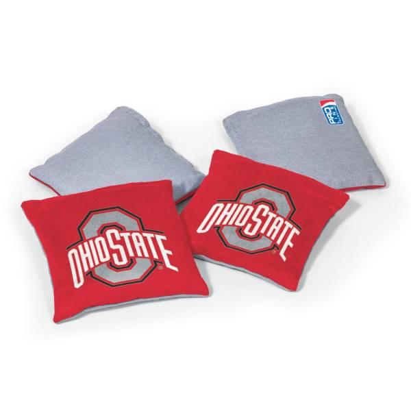 Wild Sports Ohio State Buckeyes 4 pack Logo Bean Bag Set product image