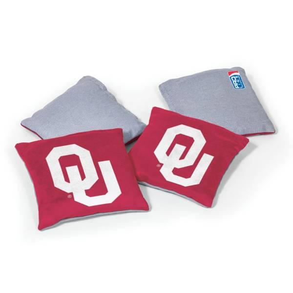 Wild Sports Oklahoma Sooners 4 pack Bean Bag Set product image