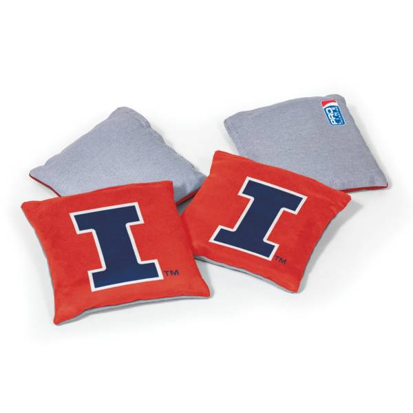Wild Sports Illinois Fighting Illini 4 pack Bean Bag Set product image