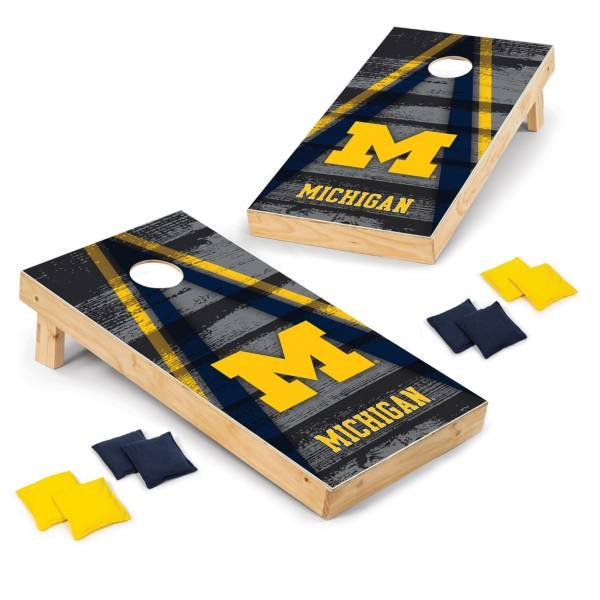 Wild Sports Michigan Wolverines 2x4 Vintage Tailgate Toss product image