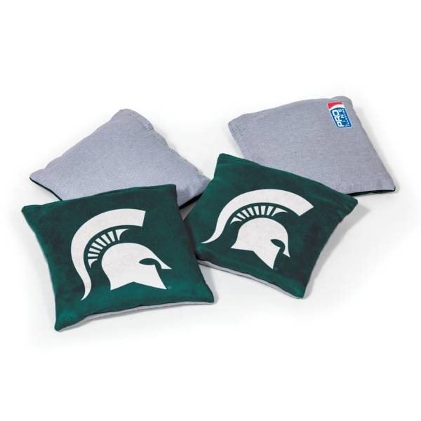 Wild Sports Michigan State Spartans 4 pack Bean Bag Set product image