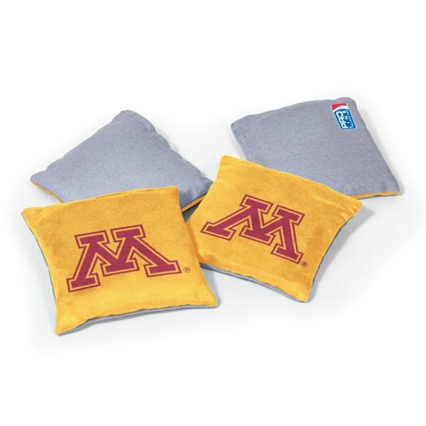 Wild Sports Minnesota Golden Gophers 4 pack Bean Bag Set product image