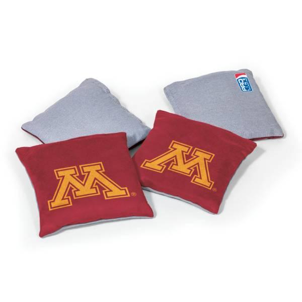 Wild Sports Minnesota Golden Gophers 4 pack Logo Bean Bag Set product image
