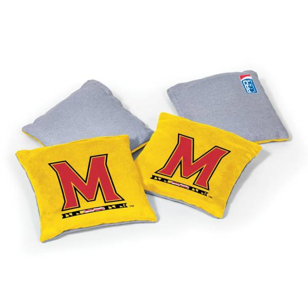 Wild Sports Maryland Terrapins 4 pack Bean Bag Set product image