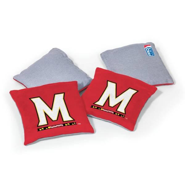 Wild Sports Maryland Terrapins 4 pack Logo Bean Bag Set product image