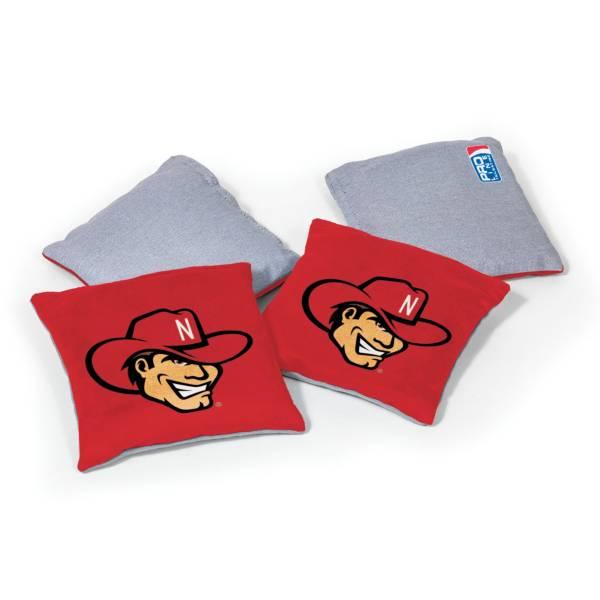 Wild Sports Nebraska Cornhuskers 4 pack Logo Bean Bag Set product image