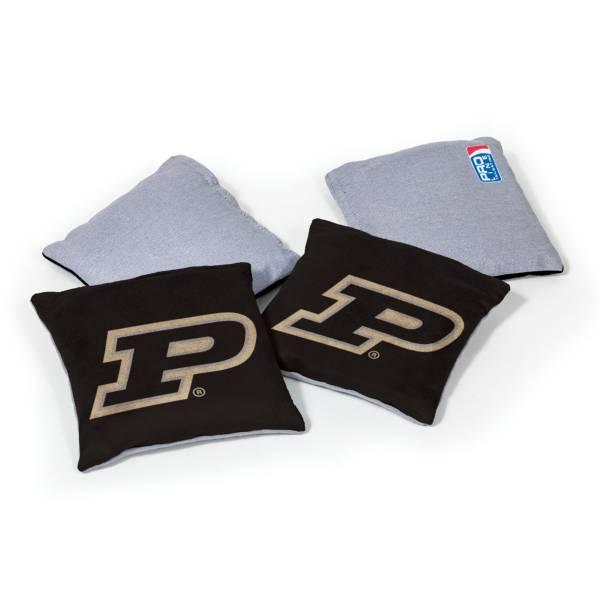 Wild Sports Purdue Boilermakers 4 pack Logo Bean Bag Set product image