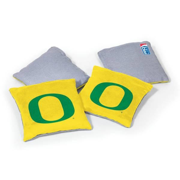 Wild Sports Oregon Ducks 4 pack Logo Bean Bag Set product image