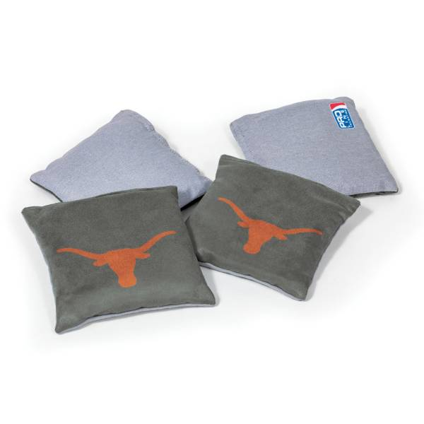 Wild Sports Texas Longhorns 4 pack Logo Bean Bag Set product image