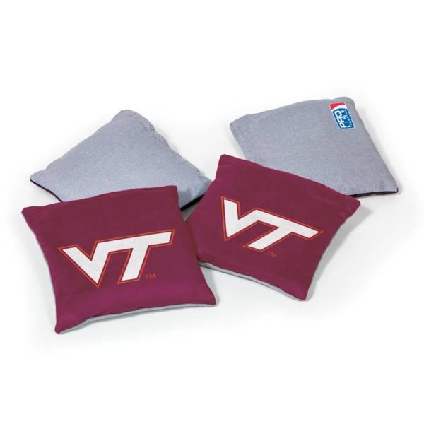 Wild Sports Virginia Tech Hokies 4 pack Bean Bag Set product image
