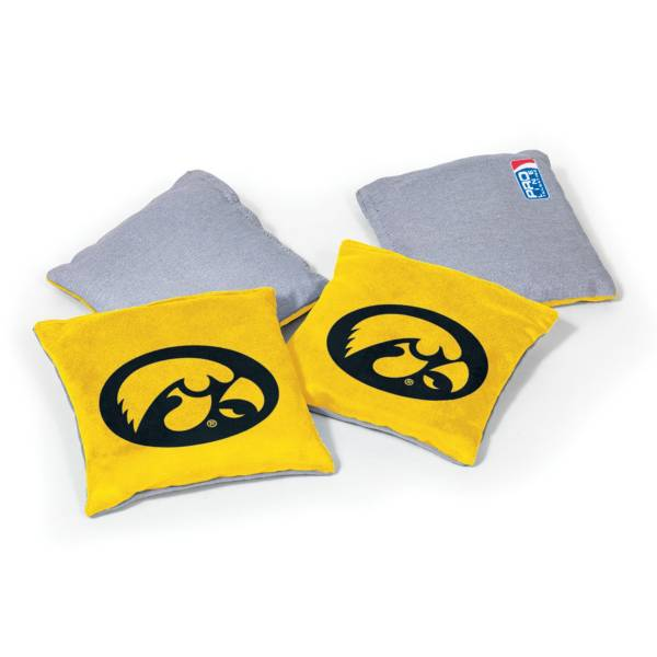 Wild Sports Iowa Hawkeyes 4 pack Bean Bag Set product image