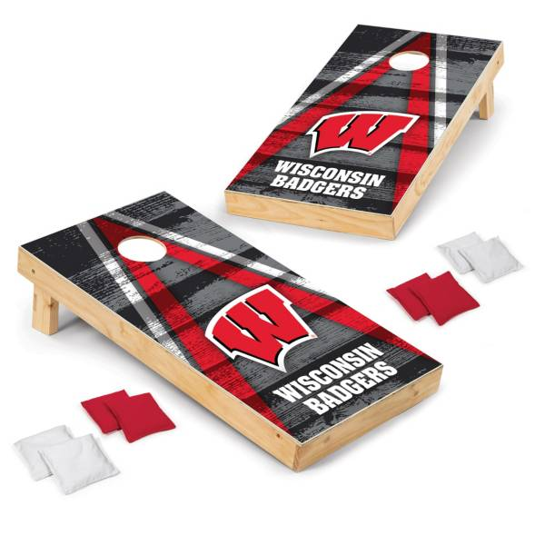 Wild Sports Wisconsin Badgers 2x4 Vintage Tailgate Toss product image
