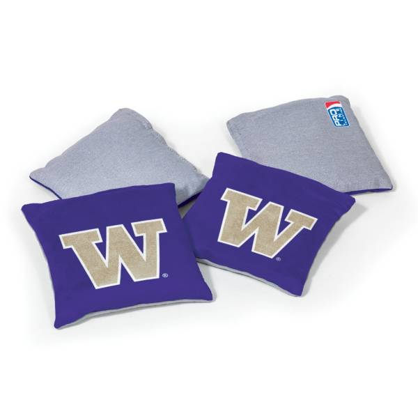 Wild Sports Washington Huskies 4 pack Bean Bag Set product image