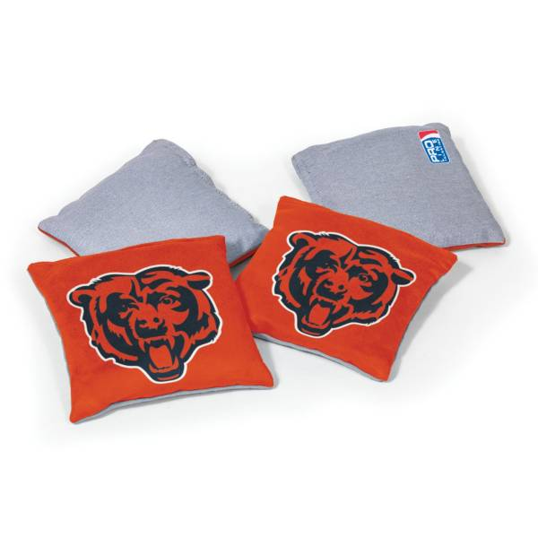Wild Sports Chicago Bears 4 pack Logo Bean Bag Set product image
