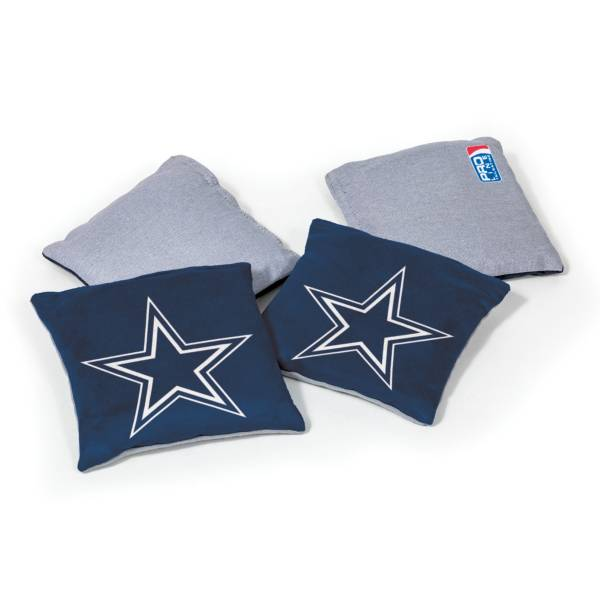 Wild Sports Dallas Cowboys 4 pack Bean Bag Set product image