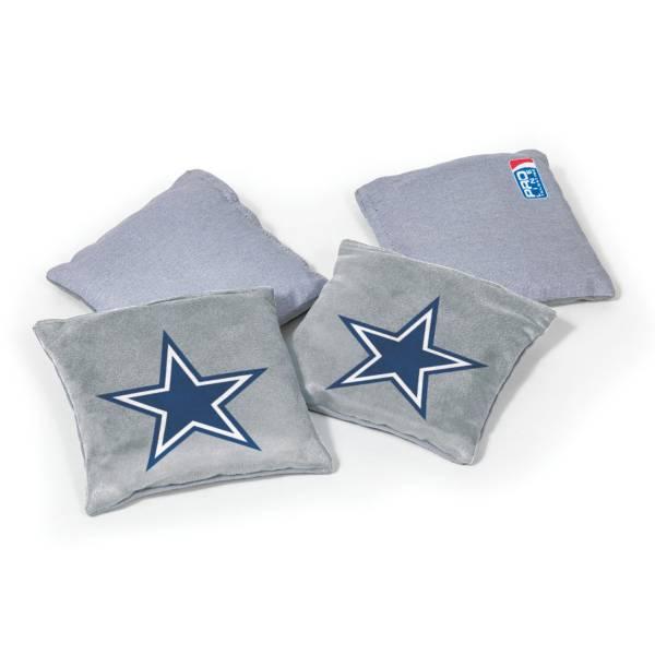 Wild Sports Dallas Cowboys 4 pack Logo Bean Bag Set product image
