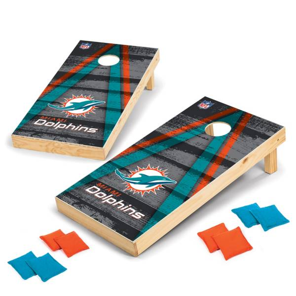 Wild Sports Miami Dolphins 2x4 Vintage Tailgate Toss product image
