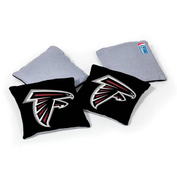 Wild Sports Atlanta Falcons 4 pack Logo Bean Bag Set product image