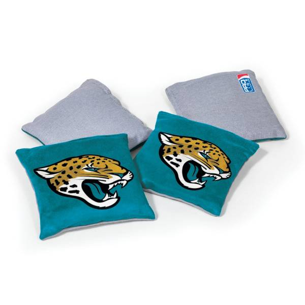 Wild Sports Jacksonville Jaguars 4 pack Bean Bag Set product image