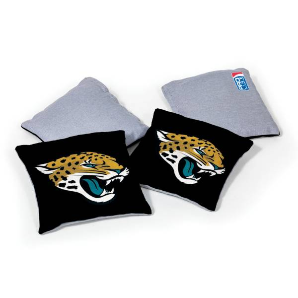 Wild Sports Jacksonville Jaguars 4 pack Logo Bean Bag Set product image