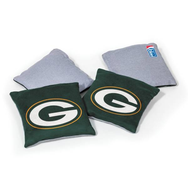 Wild Sports Green Bay Packers 4 pack Bean Bag Set product image