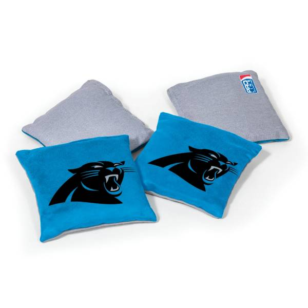 Wild Sports Carolina Panthers 4 pack Bean Bag Set product image