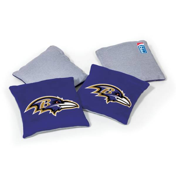 Wild Sports Baltimore Ravens 4 pack Bean Bag Set product image