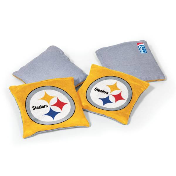 Wild Sports Pittsburgh Steelers 4 pack Bean Bag Set product image