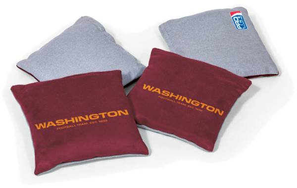 Wild Sports Washington Football Team 4 pack Logo Bean Bag Set product image