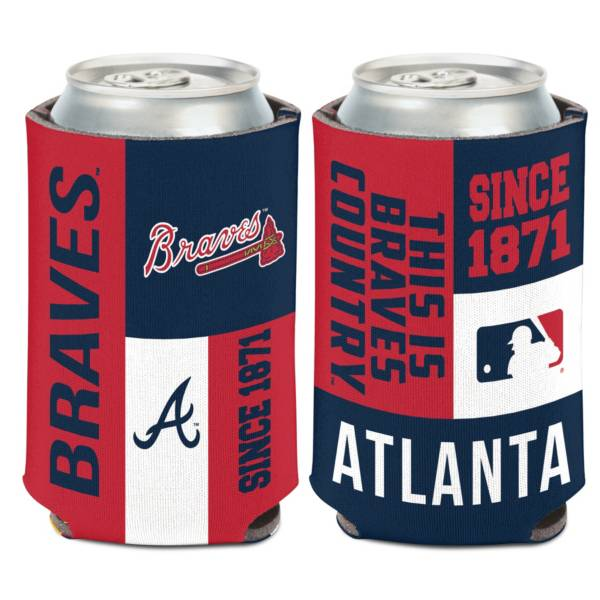 WinCraft Atlanta Braves Colorblock Can Coozie product image