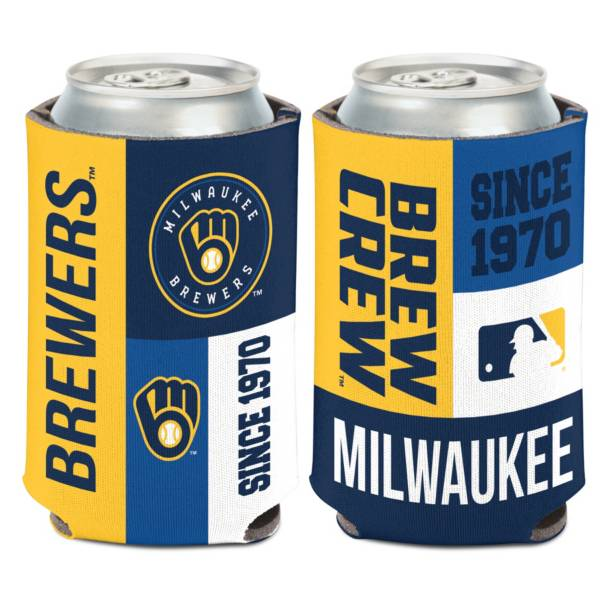 WinCraft Milwaukee Brewers Colorblock Can Coozie product image