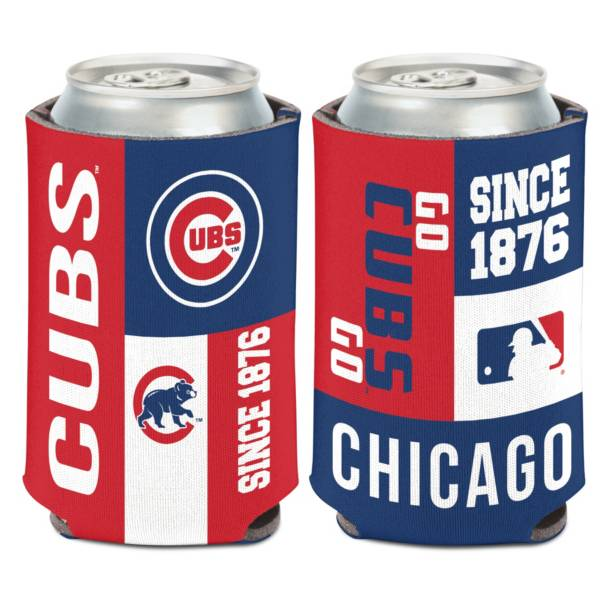WinCraft Chicago Cubs Colorblock Can Coozie product image