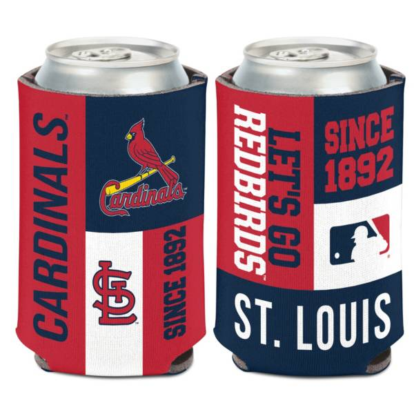 WinCraft St. Louis Cardinals Colorblock Can Coozie product image