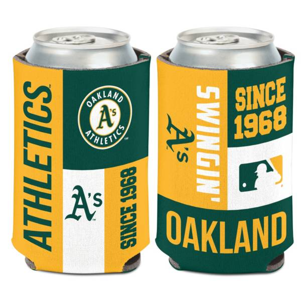 WinCraft Oakland Athletics Colorblock Can Coozie product image