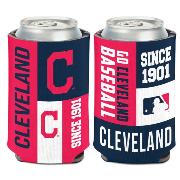 WinCraft Cleveland Indians Colorblock Can Coozie product image