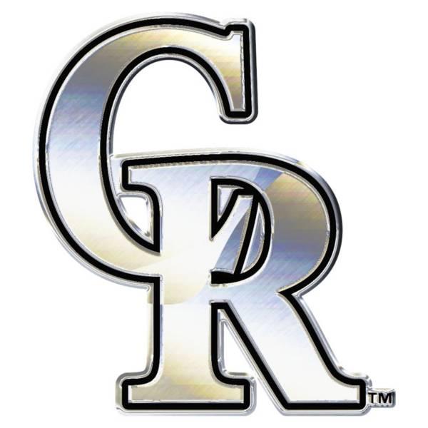 Wincraft Colorado Rockies Chrome Emblem product image