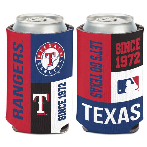 WinCraft Texas Rangers Colorblock Can Coozie product image