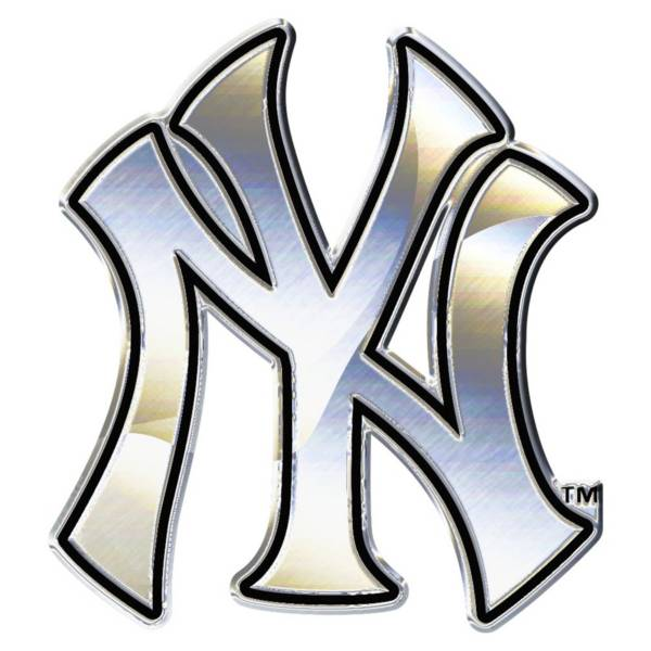 Wincraft New York Yankees Chrome Emblem product image