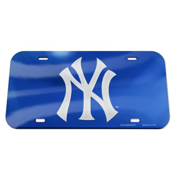 WinCraft New York Yankees License Plate product image