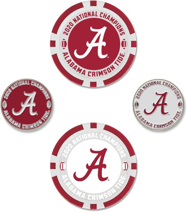 WinCraft Alabama Crimson Tide 2020 National Champions Ball Marker Set product image