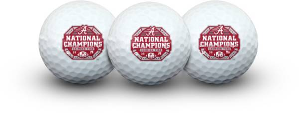 WinCraft Alabama Crimson Tide 2020 National Champions Golf Balls product image