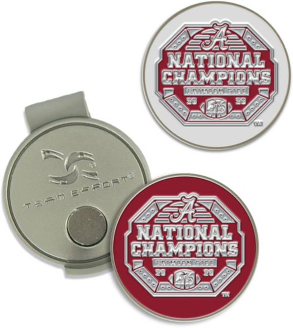 WinCraft Alabama Crimson Tide 2020 National Champions Hat Clip and Markers product image