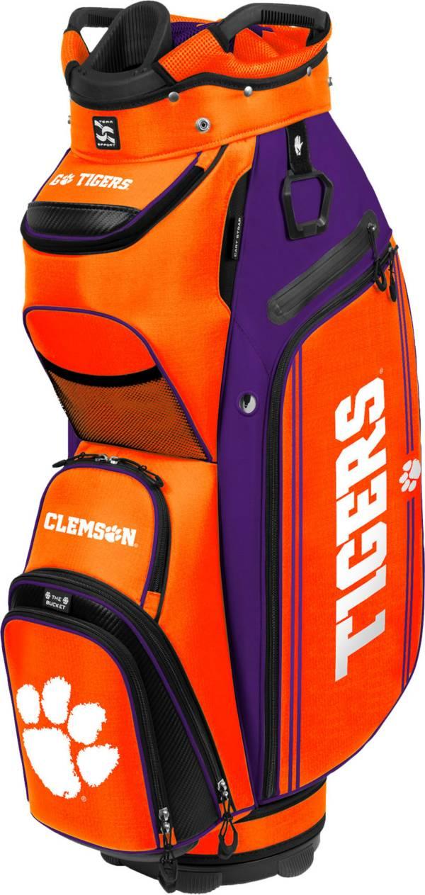 Team Effort Clemson Tigers Bucket III Cooler Cart Bag product image